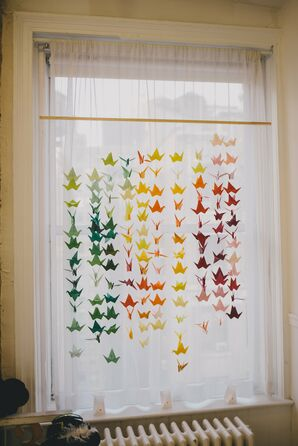 Paper Crane Photo Backdrop