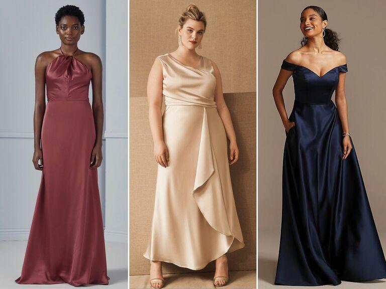 bridesmaid dress trends 2021
