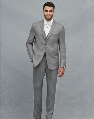 Jos A Bank 2 On Notch Lapel Gray Suit