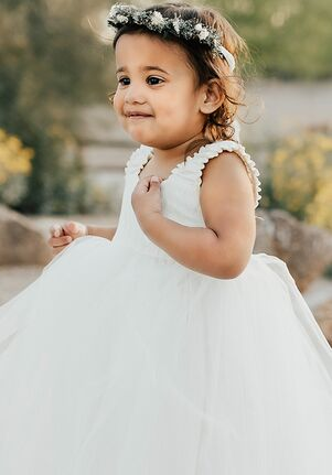 FATTIEPIE Butterfly Flower Girl Dress