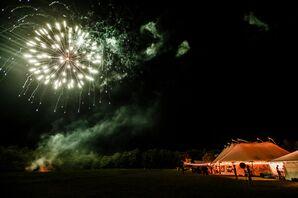 Postdinner Fireworks Display