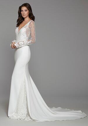 Tara Keely by Lazaro 2757 Sheath Wedding Dress