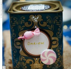 Tea Tin Wedding Favors