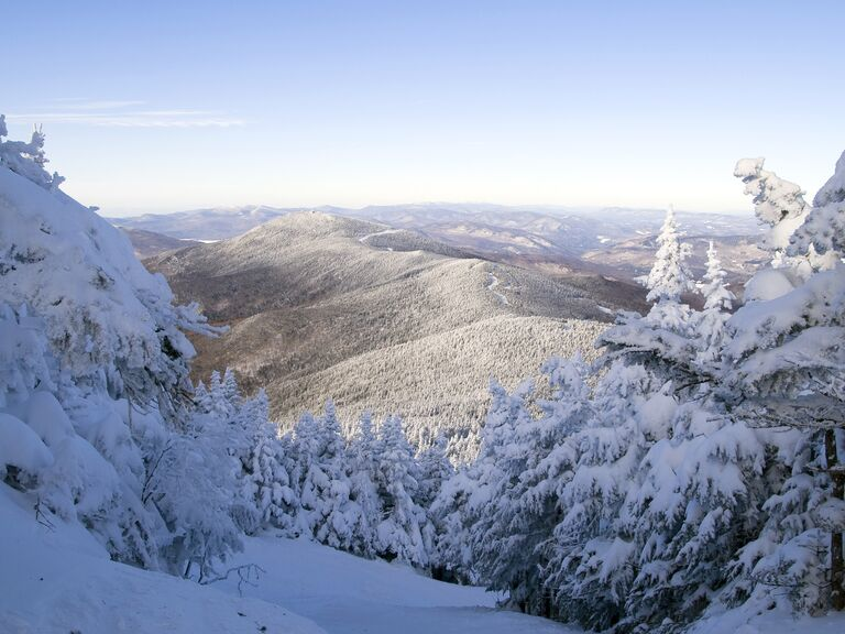Woodstock Vermont honeymoon destination