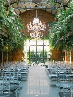 Ceremony Space at The Foundry in Long Island City, New York