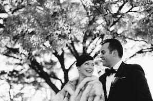 Glamorous Fur Wedding Stole