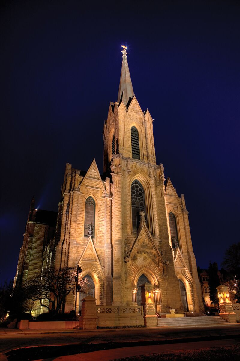 the historic church of st  patrick