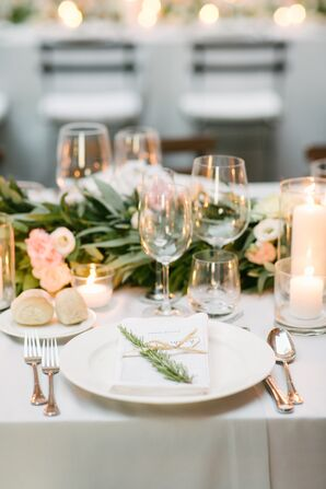 Rosemary-Accented Place Settings