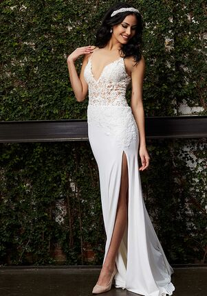 Jovani Bridal 02716 Sheath Wedding Dress