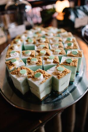 Mini Key Lime Pie Dessert Shooters