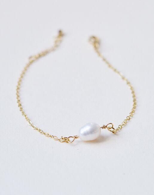 Pearl Bridal Bracelet Jb 4856