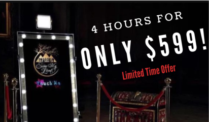 Picture This: $499 Magic Mirror Photo Booth For 4 Hrs
