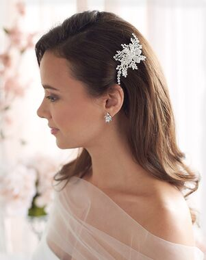 Dareth Colburn Josie Floral Hair Clip (TC-2405) Gold, Silver Pins, Combs + Clip