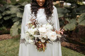 Wedding Bouquet at The Cummer Museum of Art & Gardens in Jacksonville, Florida