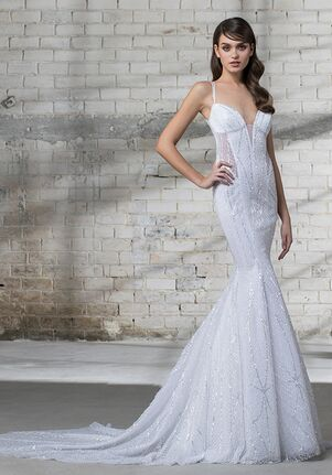 LOVE by Pnina Tornai for Kleinfeld 14678 Sheath Wedding Dress