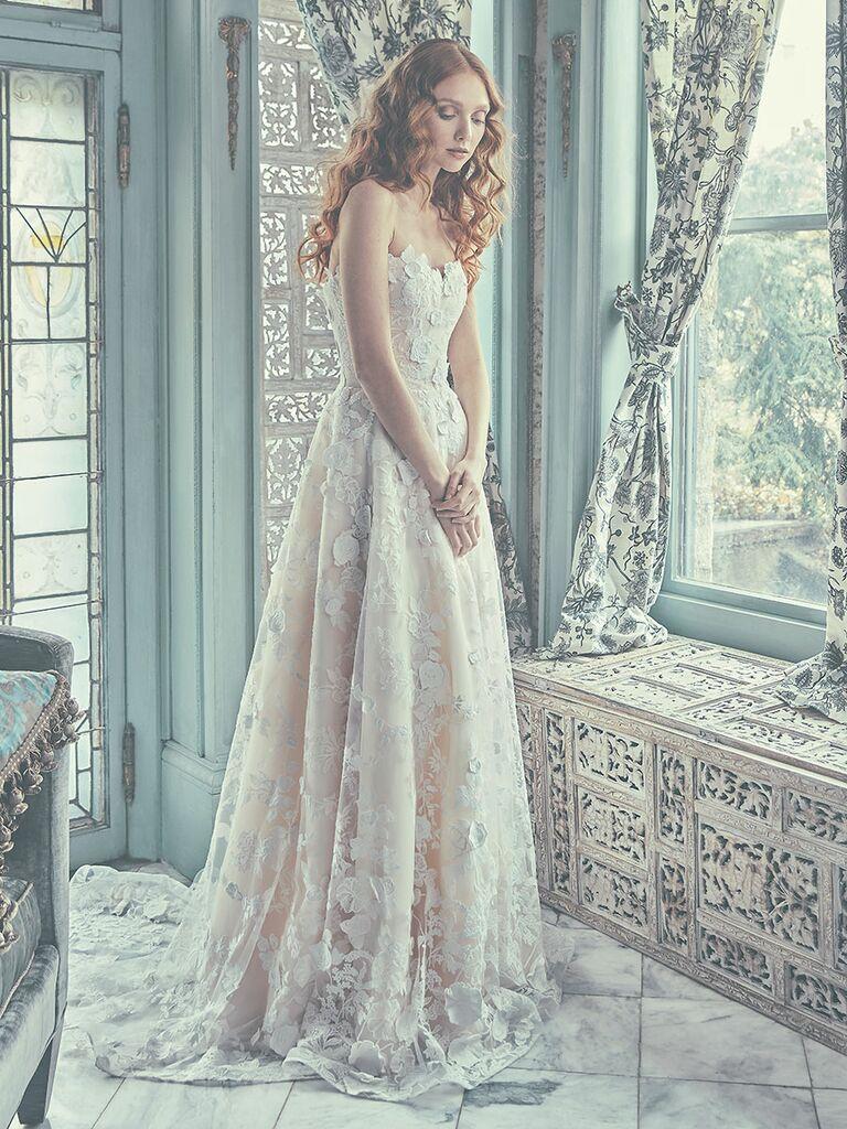 Sareh Nouri Spring 2018 Collection: Bridal Fashion Week Photos