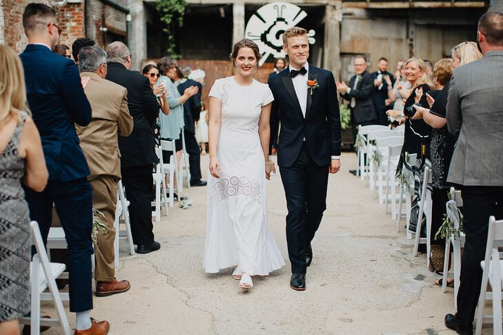 Bohemian Recessional at Outdoor Ceremony