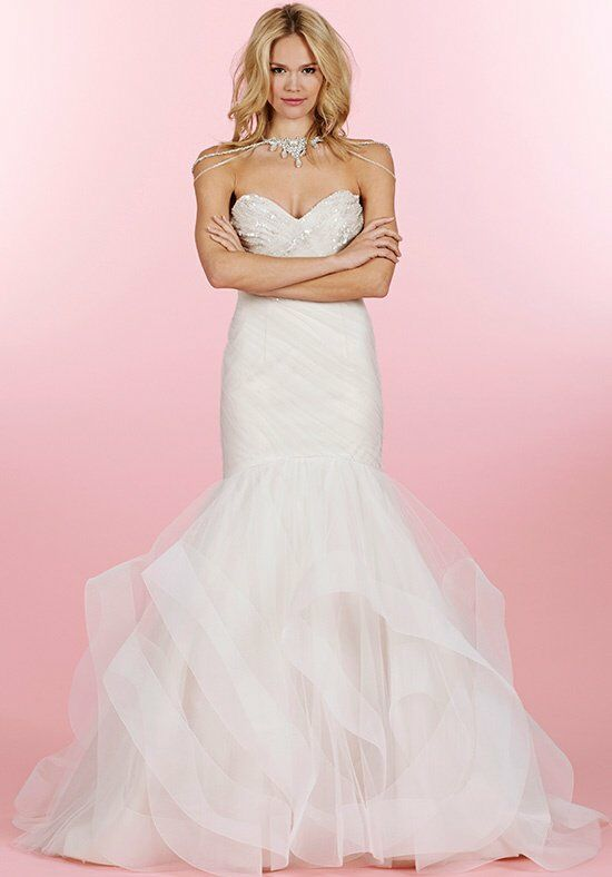 Hayley paige 6460 aurora wedding dress the knot for Wedding registry the knot