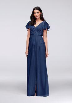 David's Bridal Collection David's Bridal Style W11446 V-Neck Bridesmaid Dress