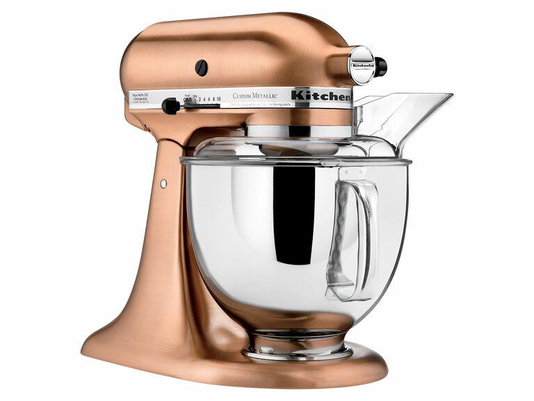5-qt. copper stand mixer from KitchenAid