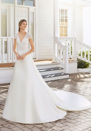 Rosa Clará CUARZO A-Line Wedding Dress