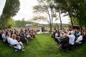 Outdoor Ceremony at Stonewall Farm
