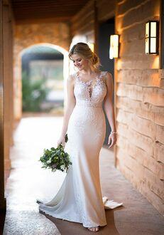 Essense of Australia D2388 Sheath Wedding Dress