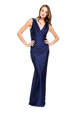 Bari Jay Bridesmaids 2006 V-Neck Bridesmaid Dress