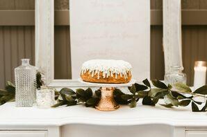 Bundt Cake Wedding Cake