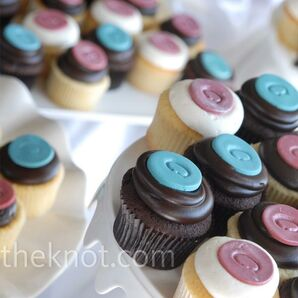 Colorful Wedding Cupcakes