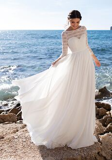 WHITE ONE CLUSIANA Ball Gown Wedding Dress