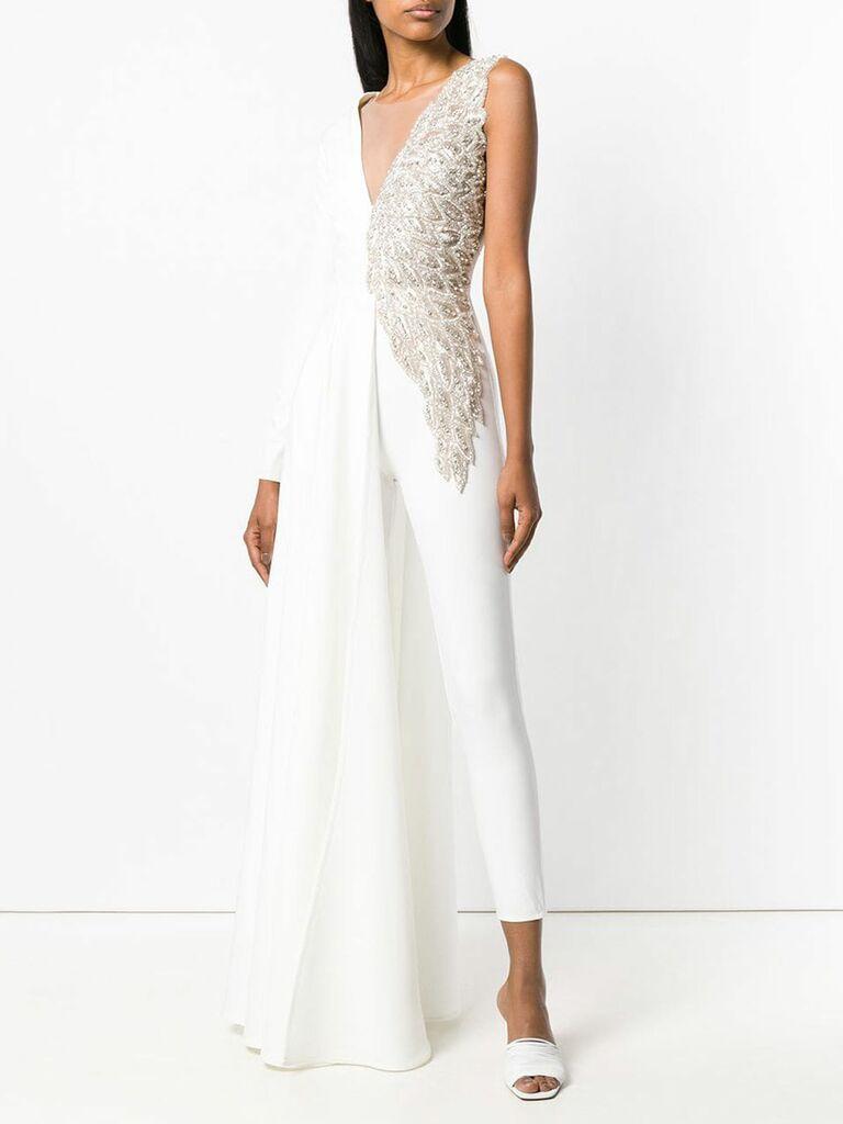 Loulou Angel jumpsuit - bridal jumpsuits