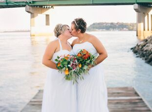 Nicole Platz (35 and a sales representative) and Ashley Jay (29 and a deputy city clerk) knew each other for several years before realizing they had a