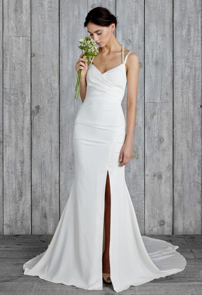 Nicole Miller 2015 Wedding Dresses Include Modern Sexy Styles for Fall
