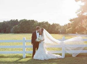 Casey and Clay's Romantic Chapel Hill Wedding