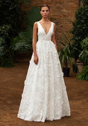 ZAC POSEN FOR WHITE ONE TENNILLE Mermaid Wedding Dress