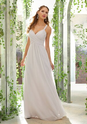 Morilee by Madeline Gardner Bridesmaids 21608 V-Neck Bridesmaid Dress