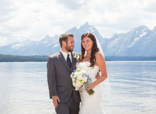 Shannon Hittesdorf (27 and works in real estate) and Chris Hittesdorf (31 and a software engineer) decided to have a shabby chic wedding with a perfec