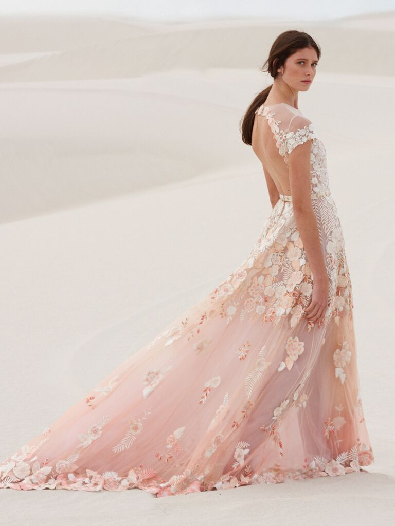 Hermione de Paula Spring 2019 Collection: Bridal Fashion Week Photos