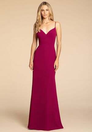 Hayley Paige Occasions 5910 V-Neck Bridesmaid Dress