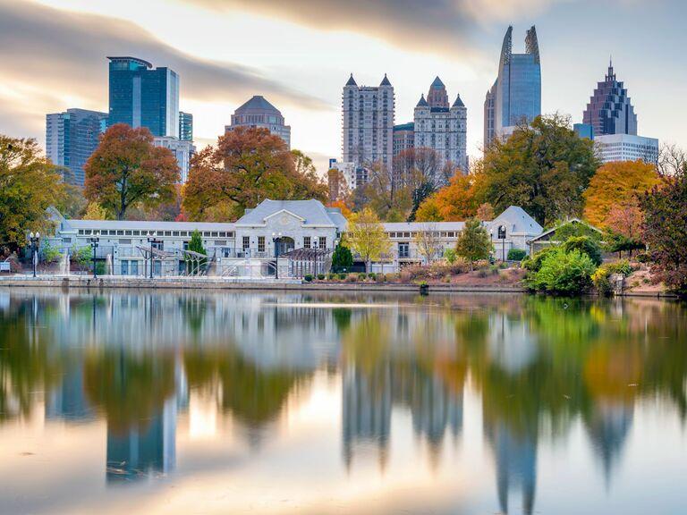 Atlanta venue on lake