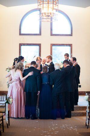 Intimate Ceremony Prayer Wedding Tradition