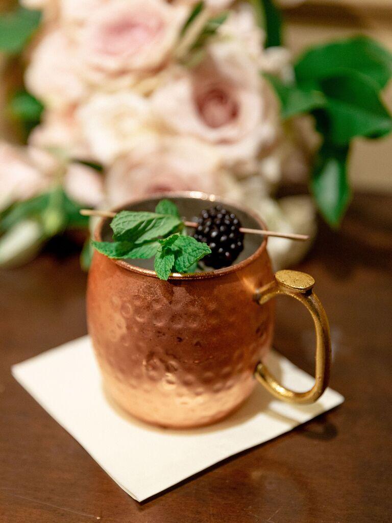 wedding drink ideas moscow mule