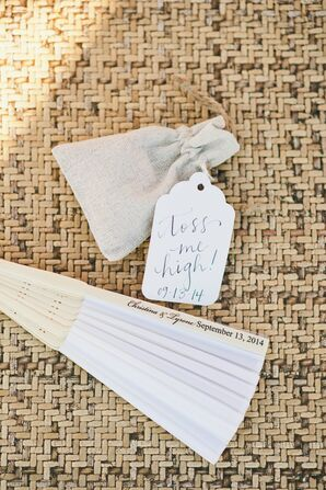 Ceremony Folding Fan and Petal Pouch