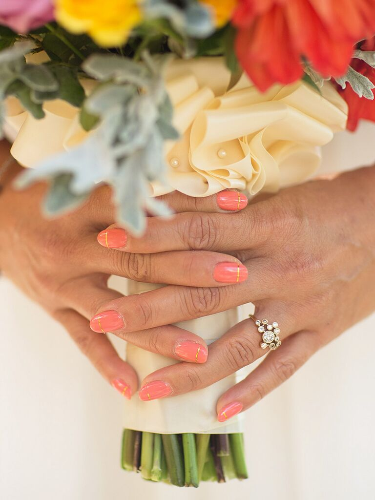 Fall Nail Ideas Perfect For An Autumn Wedding