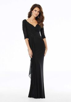 MGNY 72114 Black,Purple Mother Of The Bride Dress