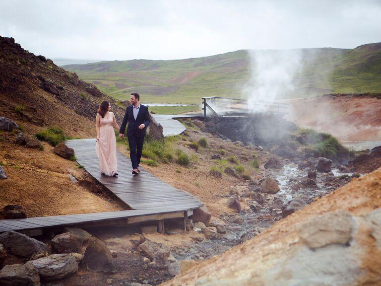 Iceland anniversary photo