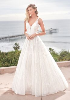 Jasmine Collection F211064 Ball Gown Wedding Dress