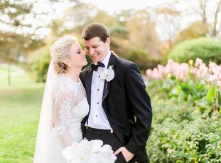 Allison Way (28 and works in marketing) and Michael Carroll (28 and a resident physician) met while competing on their respective college swim teams.