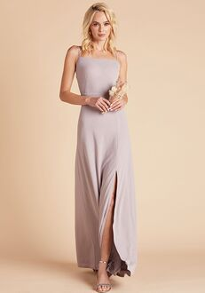 Birdy Grey Benny Crepe Dress in Lilac Scoop Bridesmaid Dress
